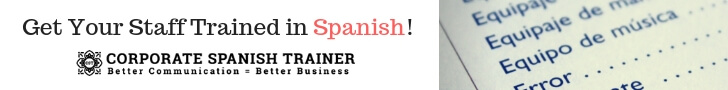 Corporate Spanish Trainer